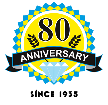 80th anniversary badge